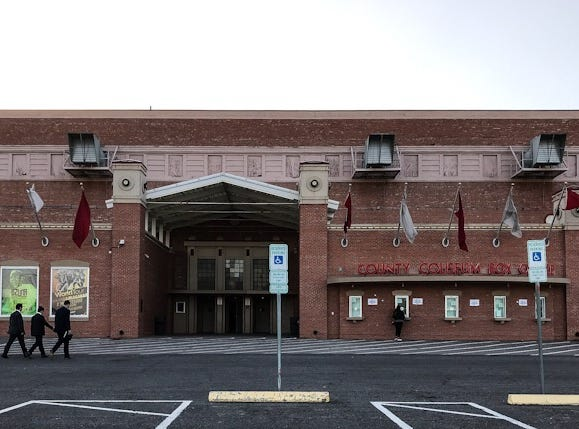 Tickets still were being sold Wednesday, Feb. 6, 2019, as the El Paso County Coliseum is prepared for President Donald Trump's rally set for Monday, Feb. 11, 2019.