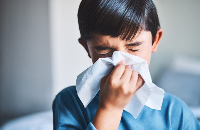Schools are taking precautions to prevent the spread of the flu.