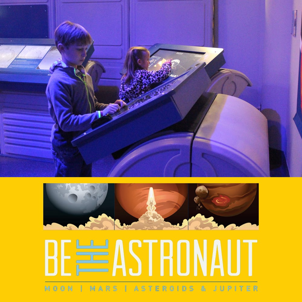 New children's museum exhibit lets kids 'be the astronaut'