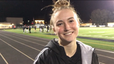 Kaitlyn McKeown had a hat trick to lift Newbury Park High girls soccer to a 3-0 win over Royal in the first round of the CIF-Southern Section playoffs