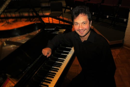 """Daniel Manoiu, internationally acclaimed composer and pianist,will perform at  """"Love Songs Through the Ages"""" 5 p.m. Feb. 10 at Emmanuel Presbyterian Church in Thousand Oaks."""