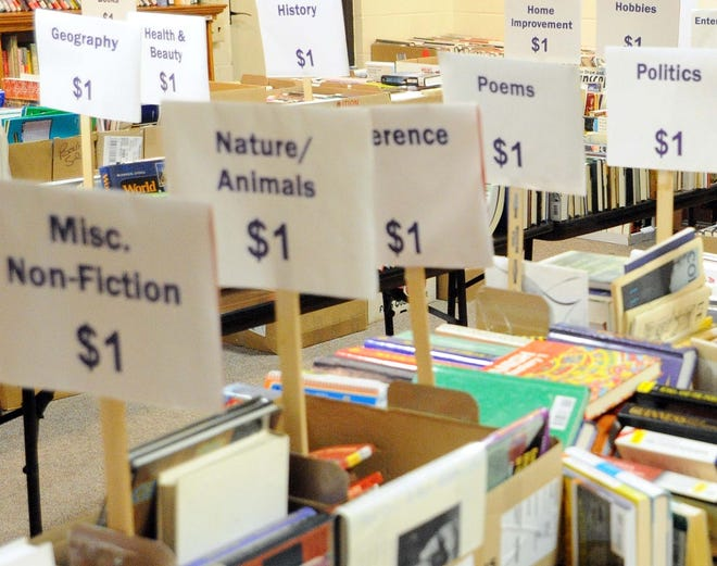 The Friends of the Millville Library will hold a book sale from 10 a.m. to 3 p.m. Feb. 9 at 210 Buck St. Books, puzzles, DVDs, VHS tapes, paintings, pictures, cassette tapes and games will be available.