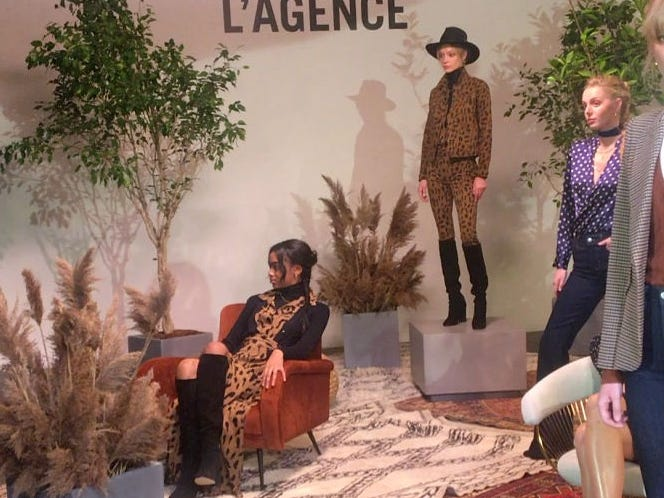 Simone Piliero shares some of her favorites from L'Agence at New York Fashion Week 2019.