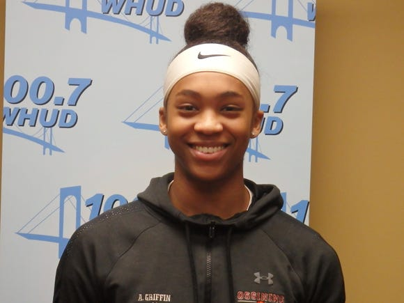 Ossining girls basketball's Aubrey Griffin is the Con Edison Athlete of the Week