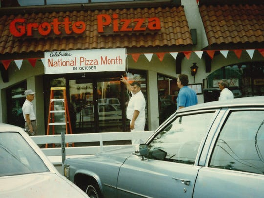 Dominick Pulieri at Grotto Pizza in Rehoboth Beach in the 1980s.
