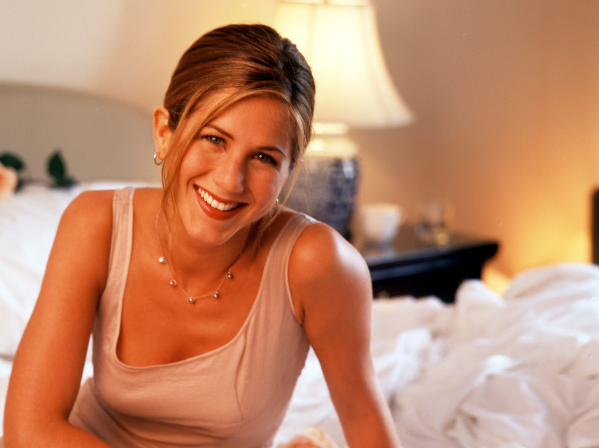 """In July 1996, she posed for USA TODAY while promoting her romantic comedy """"Picture Perfect,"""" which was released the following year."""