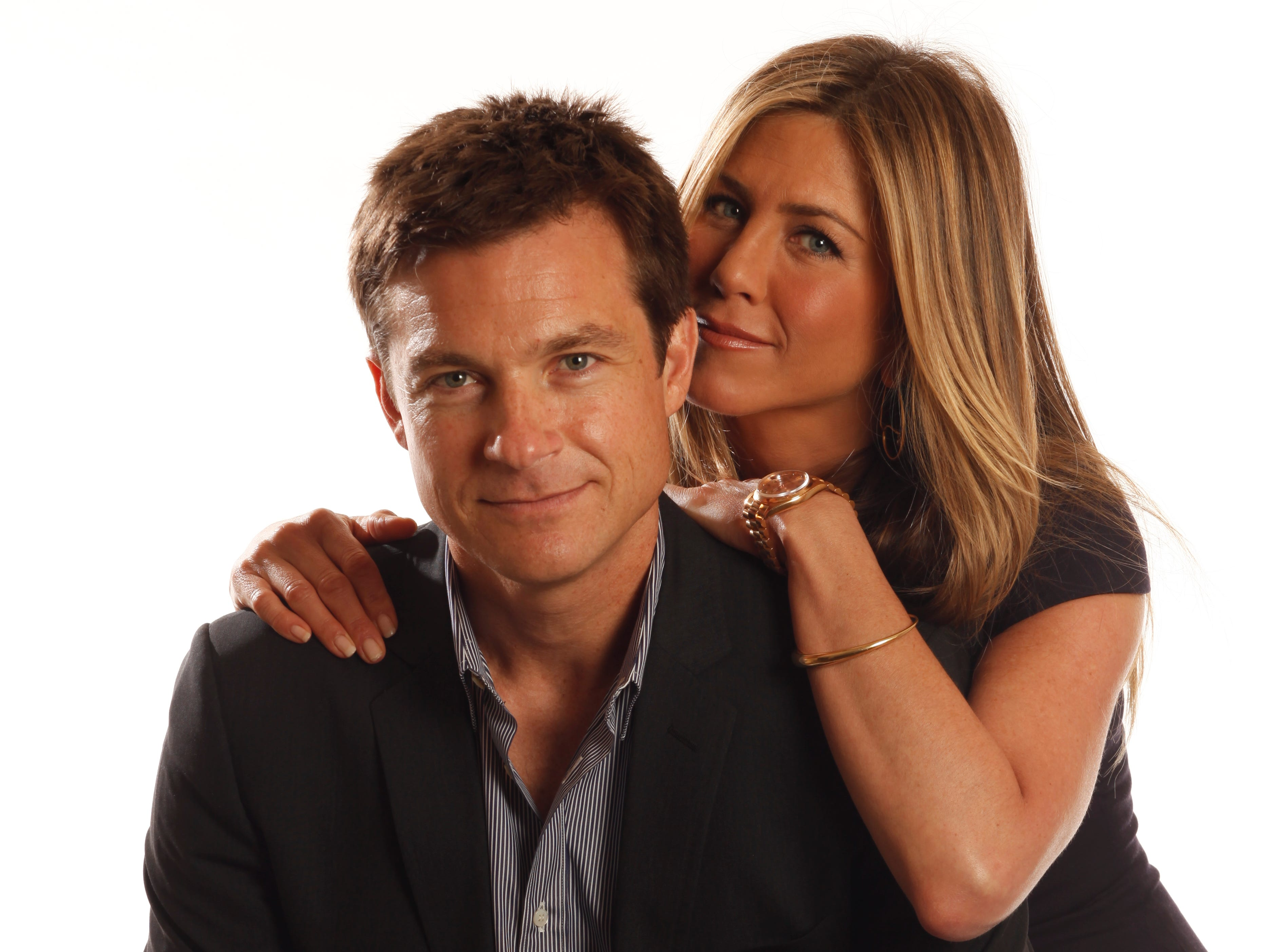"""In 2010, she re-teamed with another co-star from """"Horrible Bosses,"""" Jason Bateman, for """"The Switch."""" The movie's title refers to the plot's premise, in which Bateman 's character swaps his semen for that of the sperm donor Aniston's was using to conceive a child."""