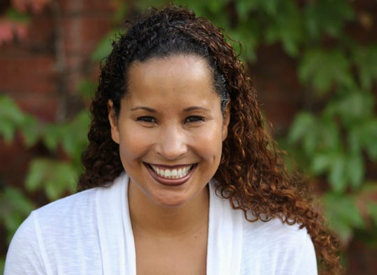 In this undated photo provided by Scripps College, Vanessa Tyson, an associate professor in politics at Scripps College, poses for a photo. Tyson, a 42-year-old political science professor who studies the intersection of politics and the #MeToo movement, went public with her sexual assault accusation against Virginia Lt. Gov. Justin Fairfax on  Feb. 6, 2019.