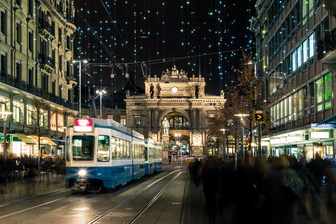 The 10 Cities With The Best Public Transportation