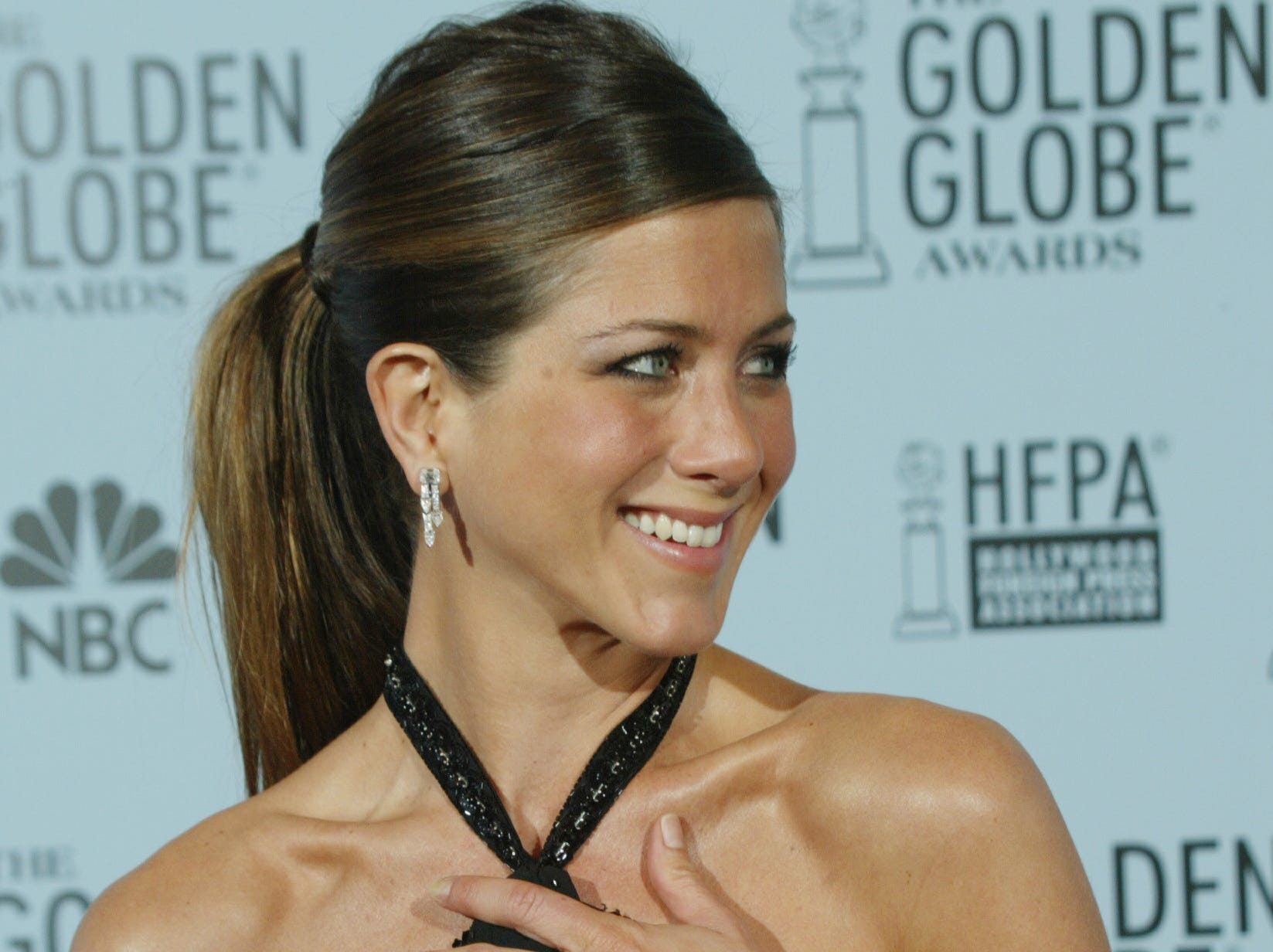 """The following year, Aniston won the Golden Globe for her role on """"Friends."""""""