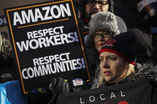 Demonstration in New York City on Jan. 30, 2019.