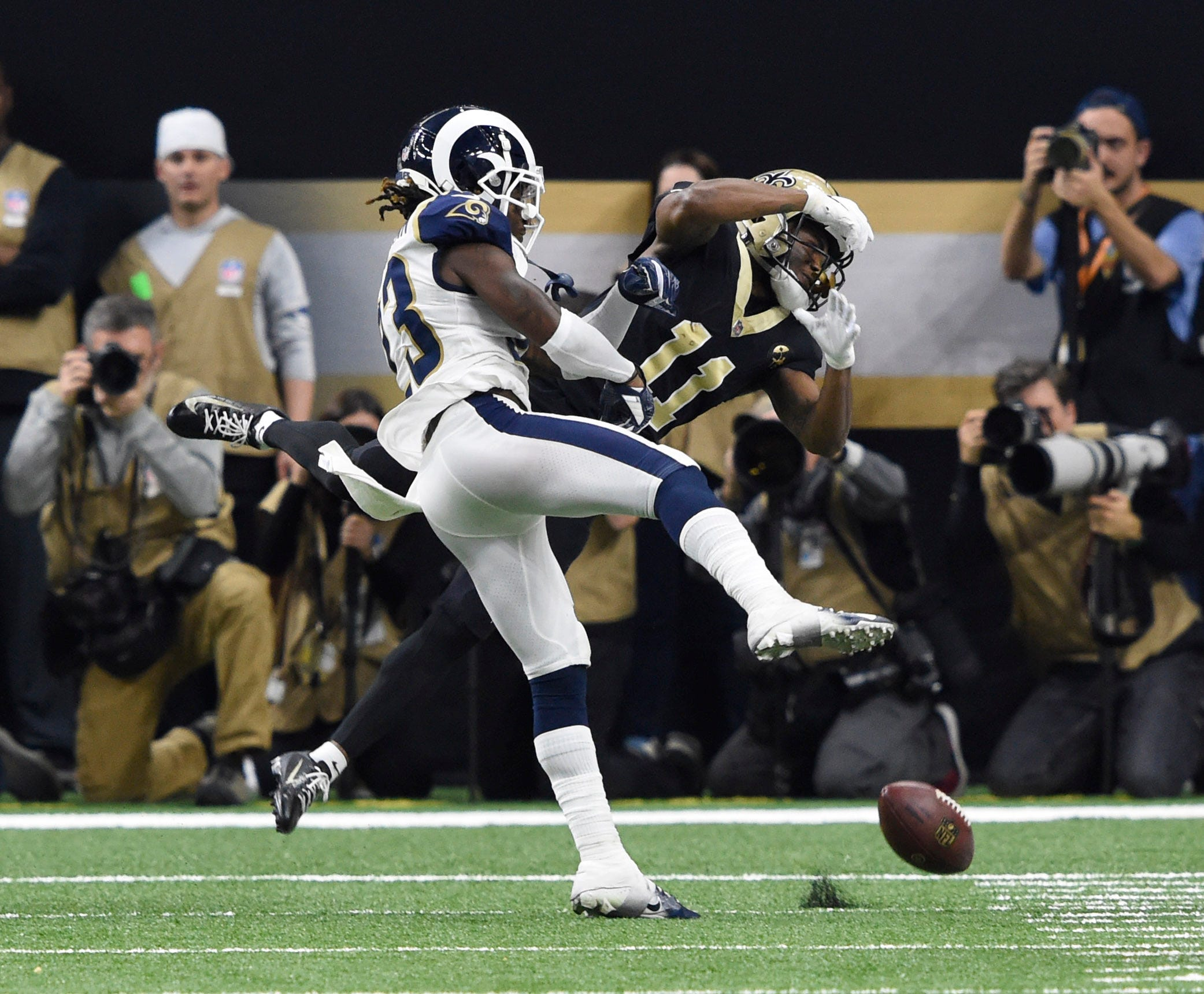 Alliance of American Football's SkyJudge might have prevented NFC Championship no-call