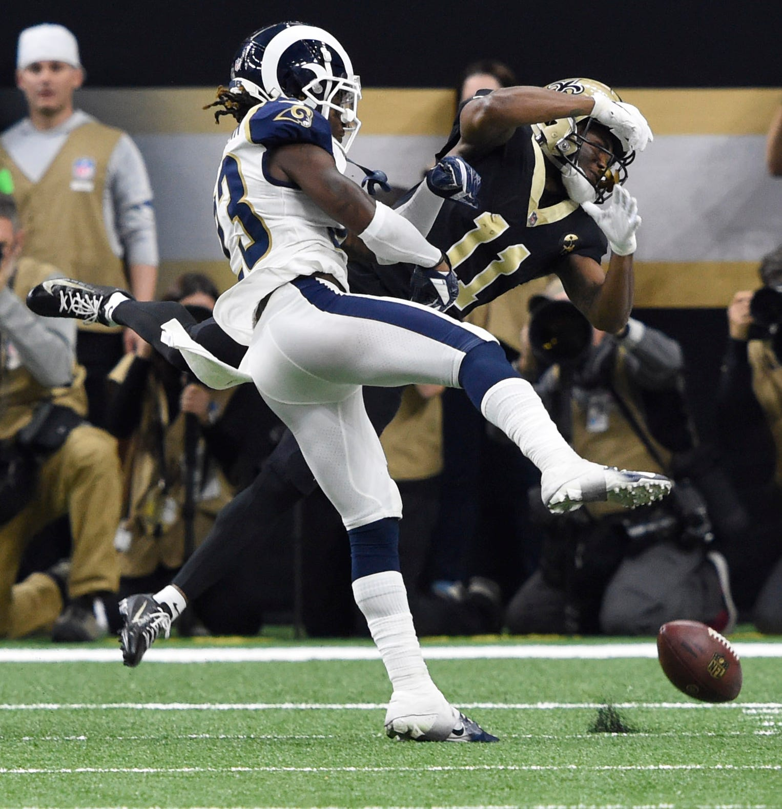 Nickell Robey-Coleman's hit on Tommylee Lewis in the NFC Championship has brought plenty of controversy to the NFL.