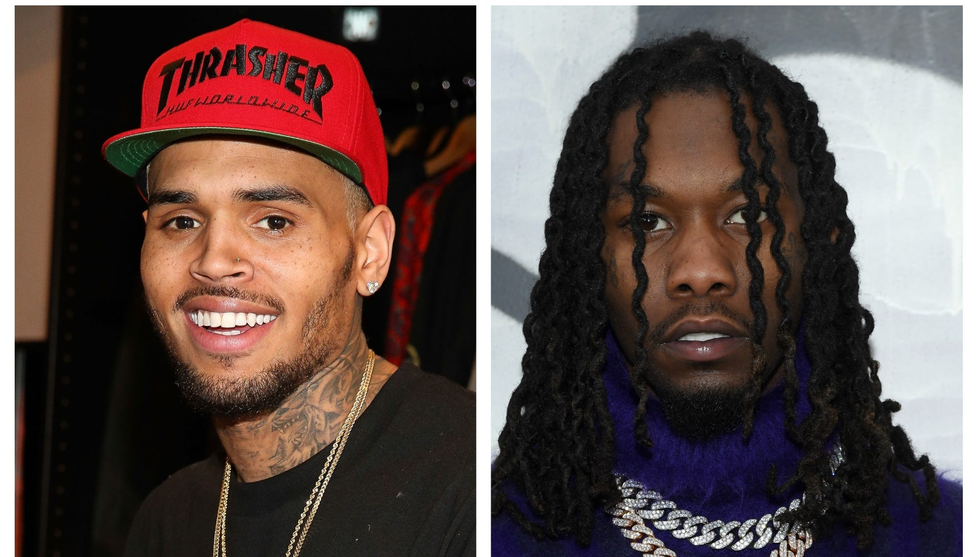 chris brown challenges offset to fight me over 21 savage meme chris brown challenges offset to fight