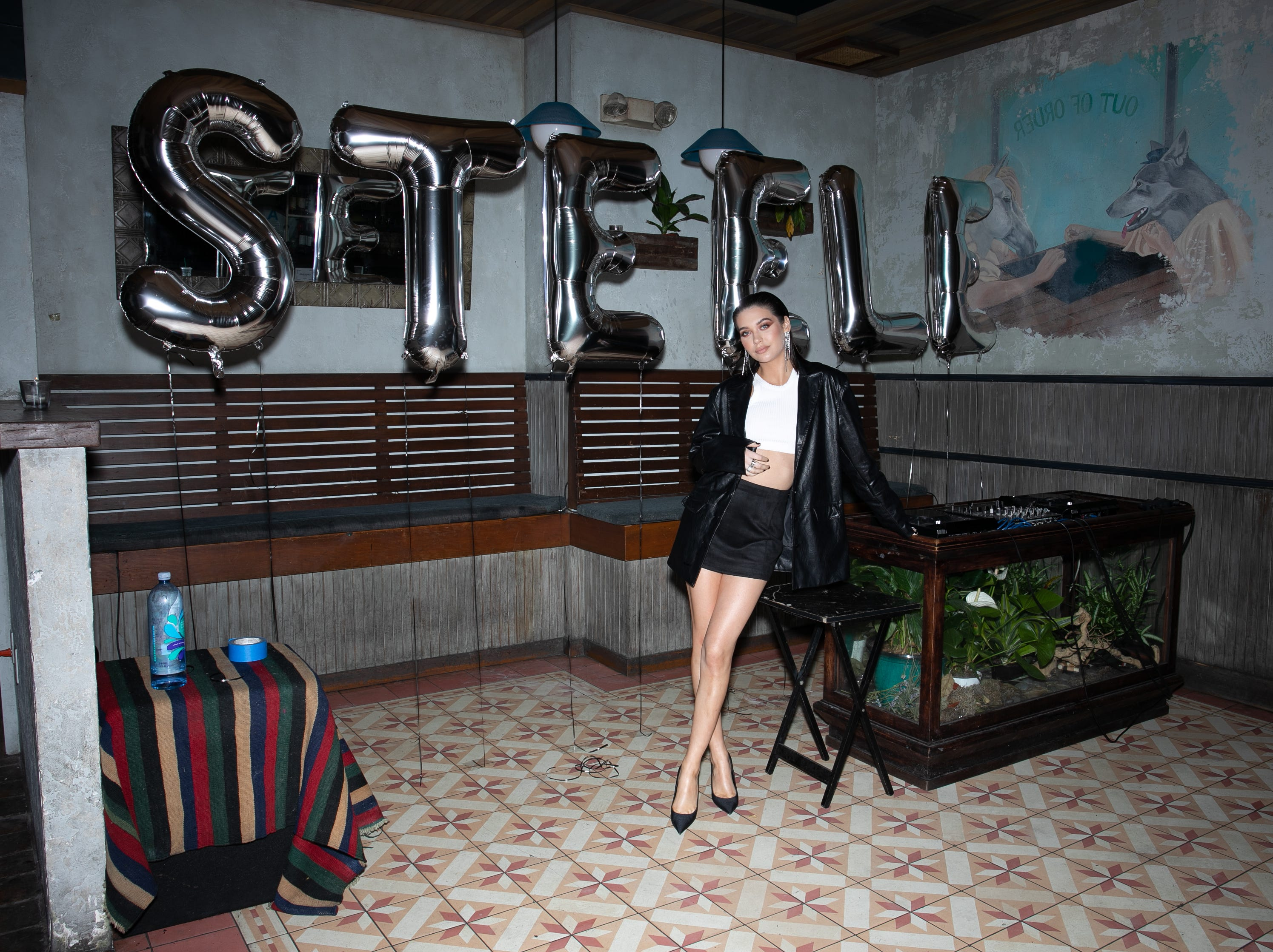 Amanda Steele turned her popular YouTube channel into a fashion line, seen here.