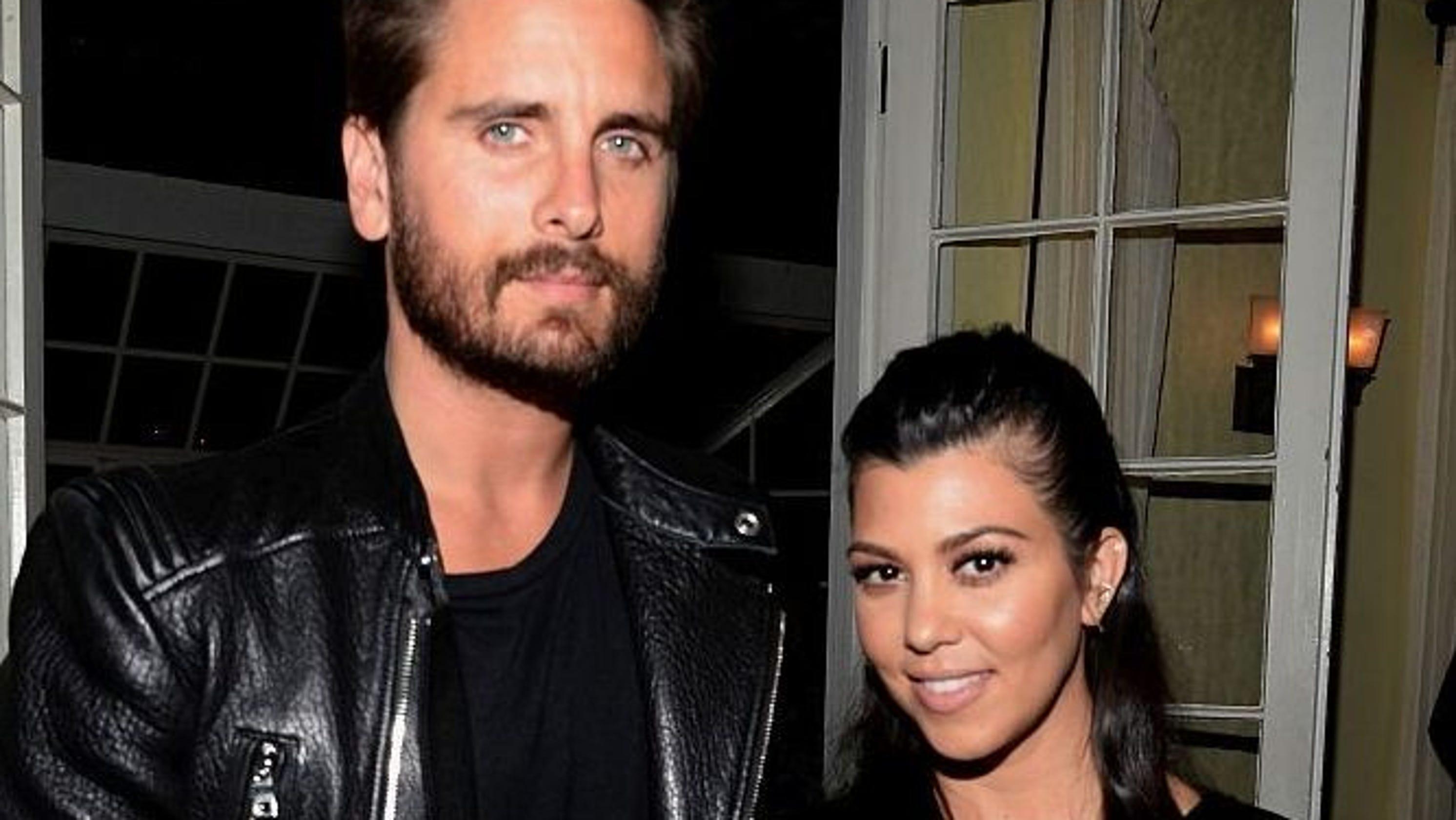 69613ba6c3a7 Kourtney Kardashian says she and Scott Disick are co-parenting goals