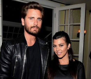"Kourtney Kardashian said on Today that it's ""a good message to show other people"" exes like her and Scott Disick traveling and working together."