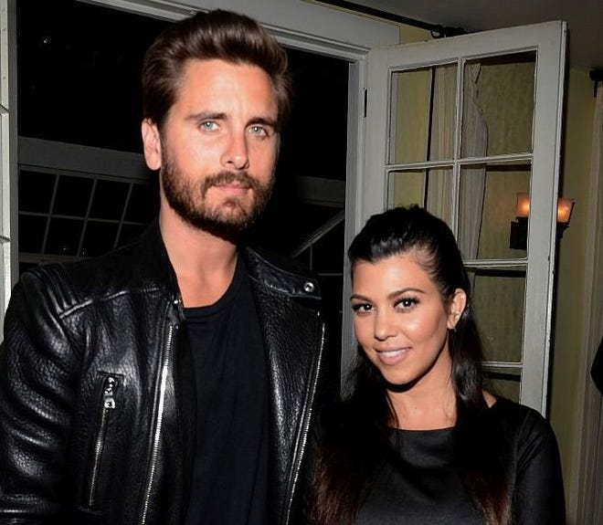 """Kourtney Kardashian said on Today that it's """"a good message to show other people"""" exes like her and Scott Disick traveling and working together."""