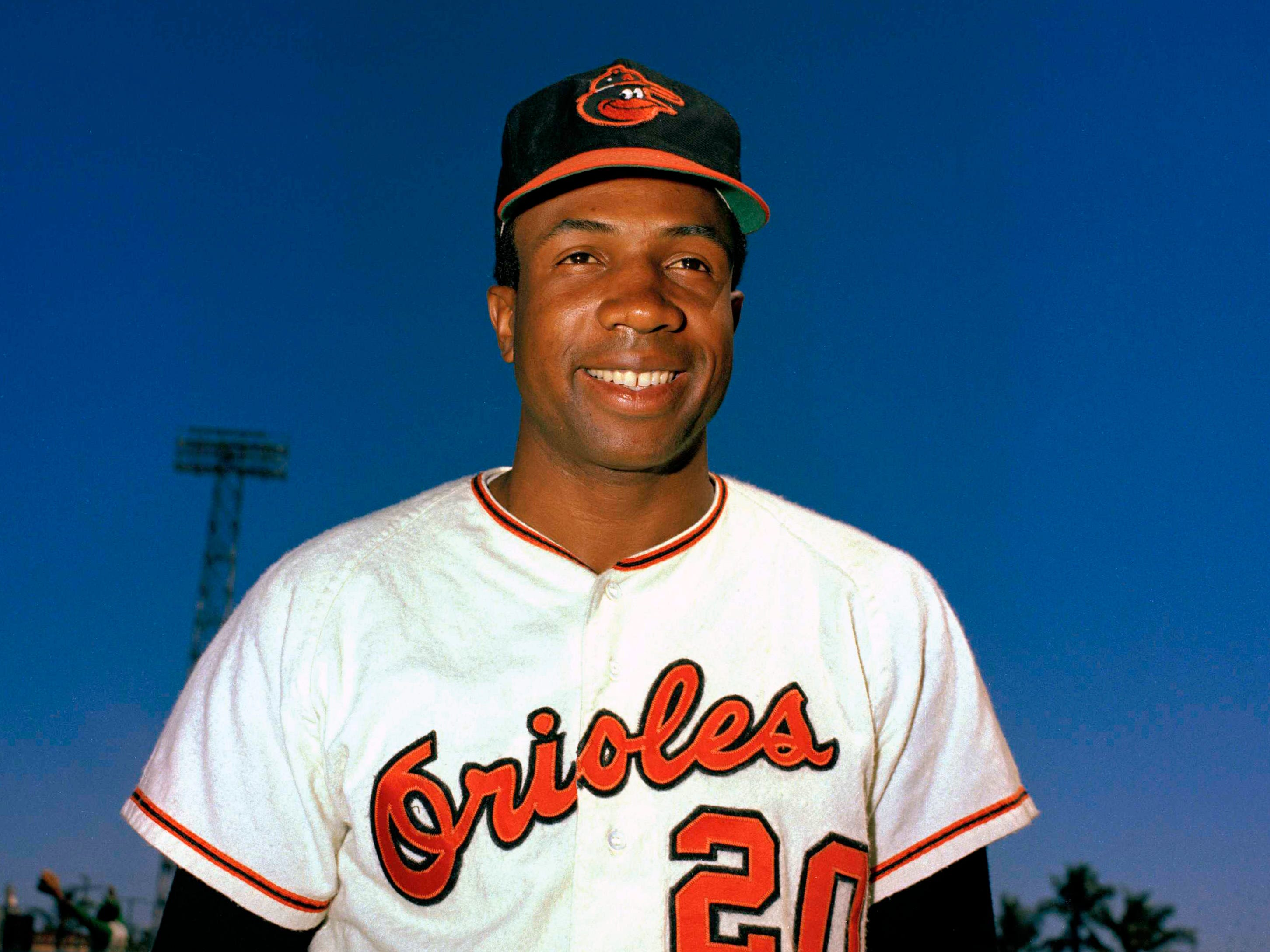 Hall of Famer Frank Robinson was the first black manager in Major League Baseball.