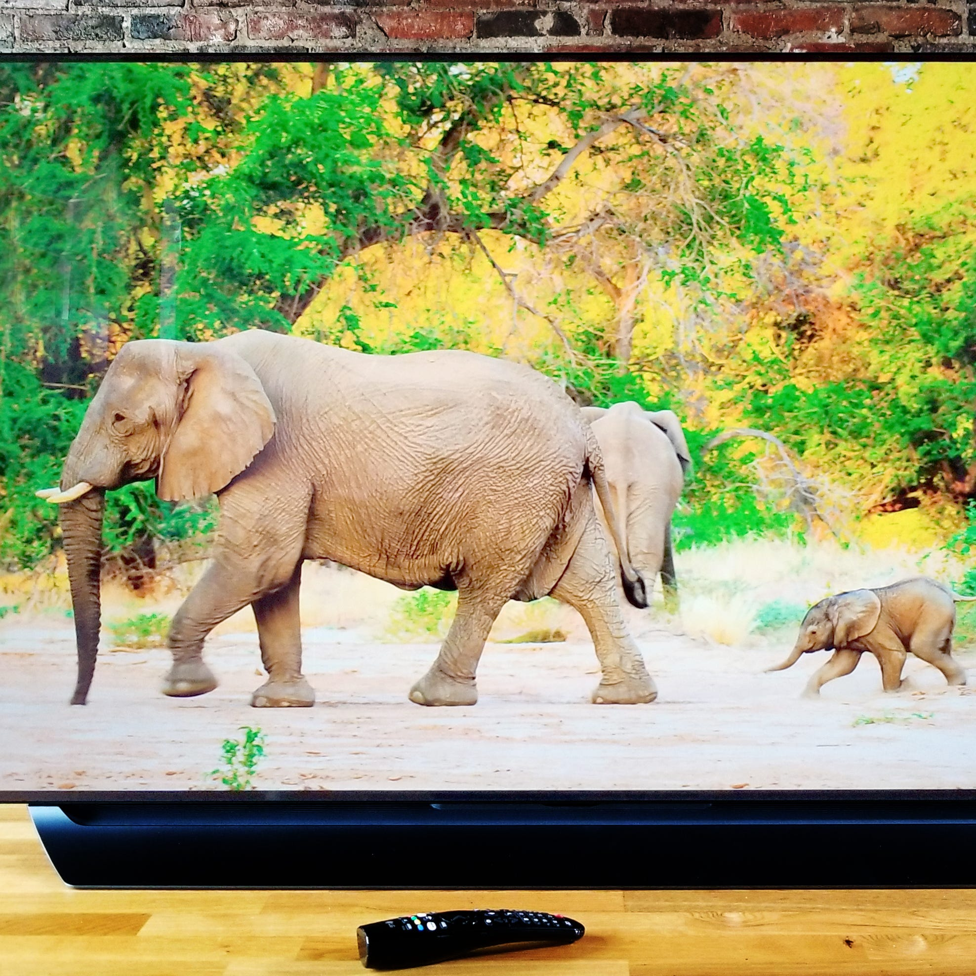 Save big on a refurbished LG C8 OLED TV at Walmart.