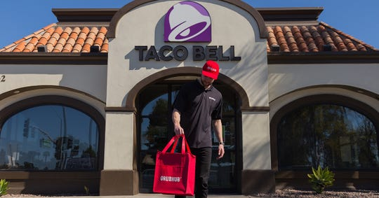 Taco Bell announced nationwide delivery is now available with Grubhub.