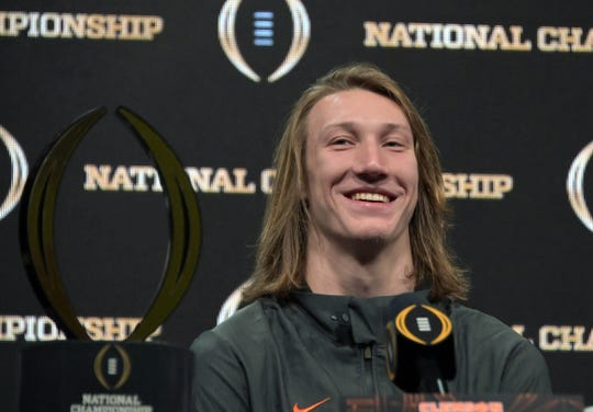 Could Clemson Tigers quarterback Trevor Lawrence be enticed by one of the many new pro football leagues about to begin play?