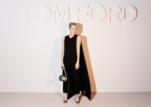 NEW YORK, NEW YORK - FEBRUARY 06: Poppy Delevingne attends the Tom Ford FW 2019 Arrivals during New York Fashion Week: The Shows on February 06, 2019 in New York City. (Photo by Nicholas Hunt/Getty Images) ORG XMIT: 775293212 ORIG FILE ID: 1127909879