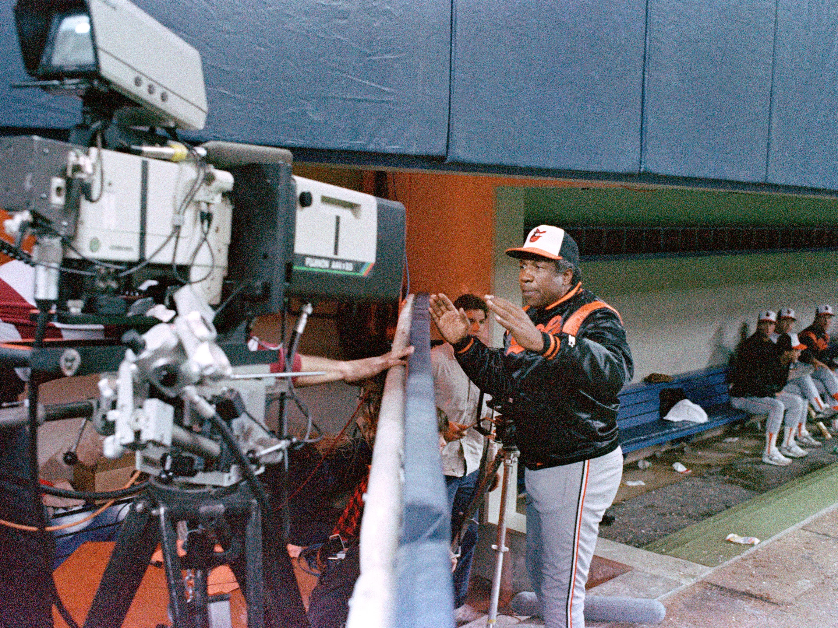 Frank Robinson managed the Baltimore Orioles  from 1988-91.
