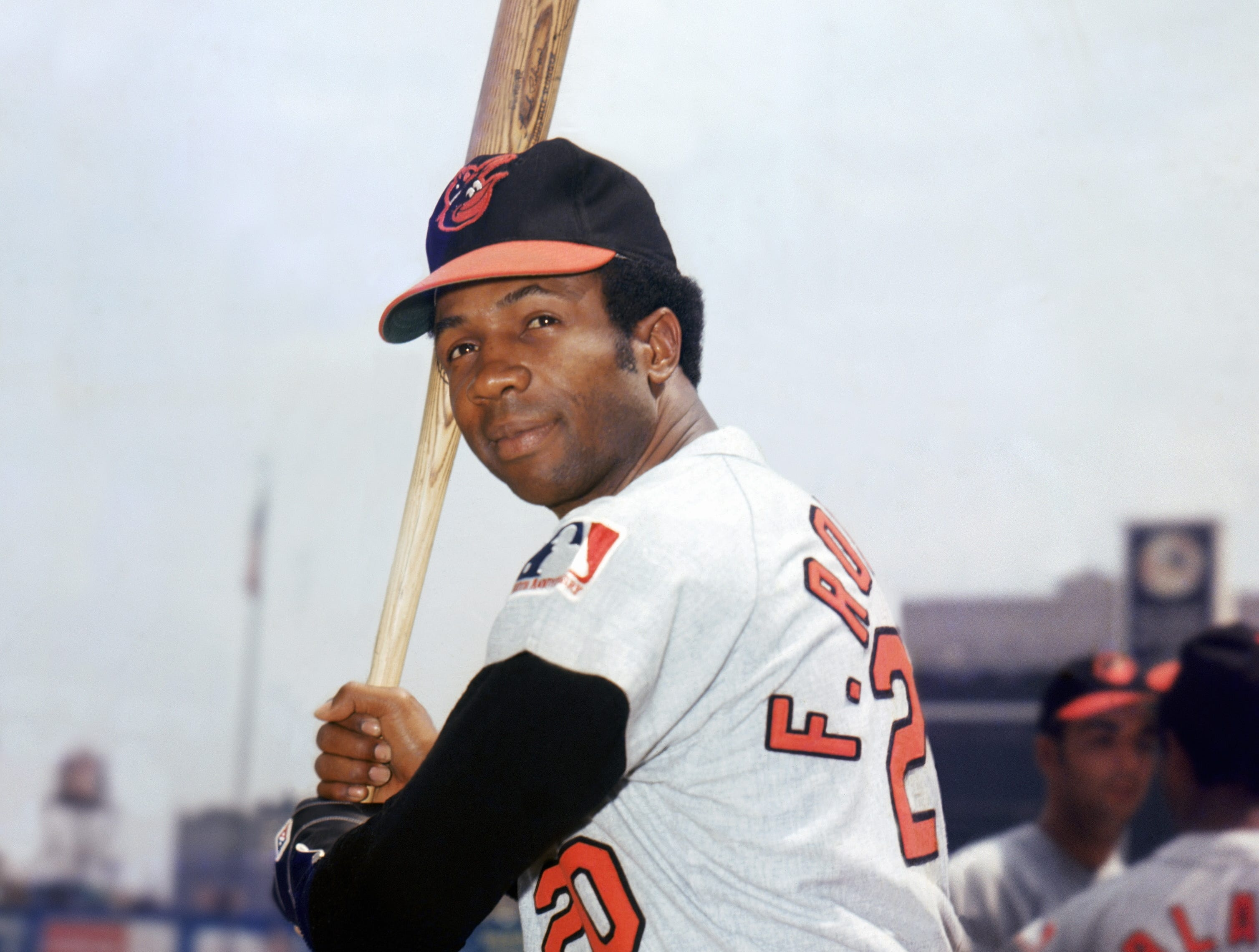 Frank Robinson was elected to the Baseball Hall of Fame with 89.2 percent of the vote in his first year of eligibility in 1982.
