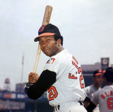 separation shoes d8ec5 deba4 Frank Robinson was elected to the Baseball Hall of Fame with 89.2 percent  of the vote