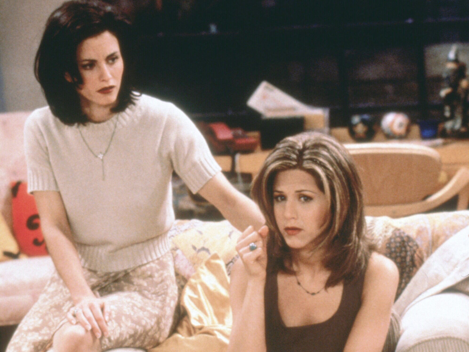 """By the show's second episode, shot months after the pilot, Aniston had gotten the """"Rachel,"""" one of the most popular haircuts of the 1990s."""