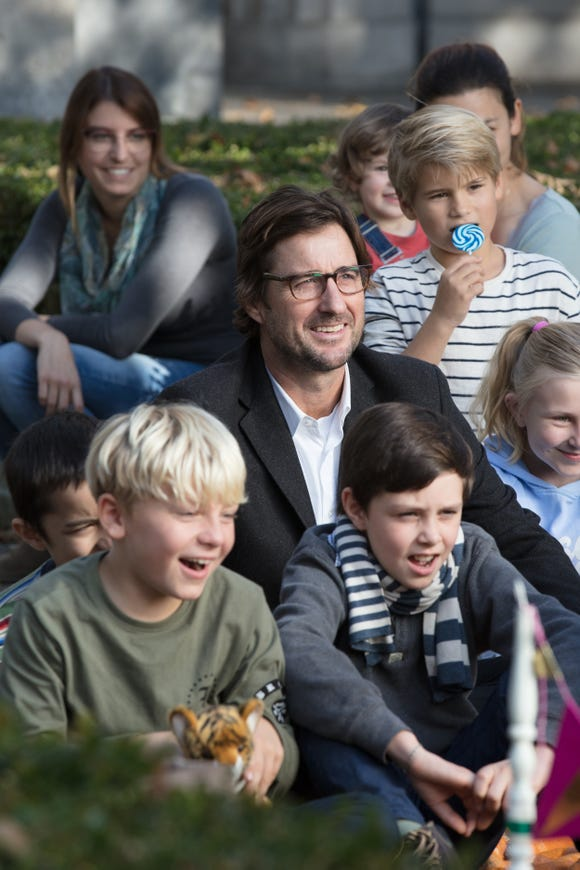 """A filmmaker (Luke Wilson) becomes enamored with a children's entertainer in """"Berlin, I Love You."""""""