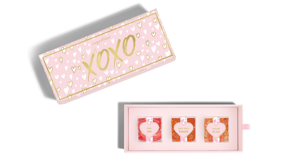 Best Valentine's Day Gifts 2019: Sugarfina XOXO Candy Bento Box (Photo: Sugarfina)