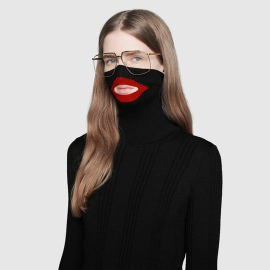 Gucci's wool balaclava jumper has been pulled after social media users said the sweater depicts blackface.