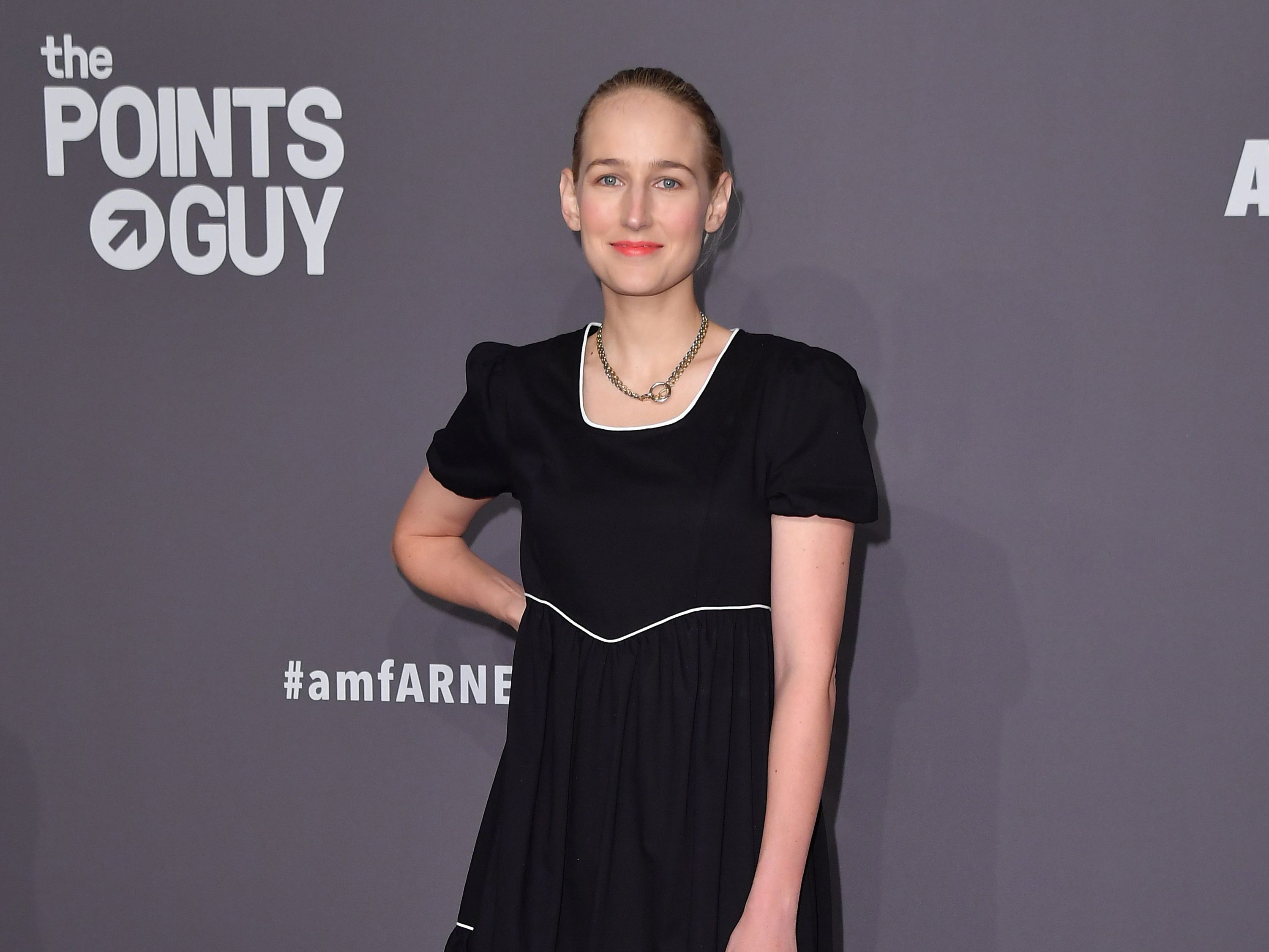 US actress Leelee Sobieski arrives to attend the amfAR Gala New York at Cipriani Wall Street in New York City on February 6, 2019. (Photo by ANGELA WEISS / AFP)ANGELA WEISS/AFP/Getty Images ORIG FILE ID: AFP_1D46MT