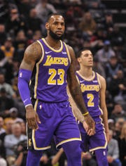 LeBron James' wish to play with Anthony Davis has left younger Lakers as trade bait.