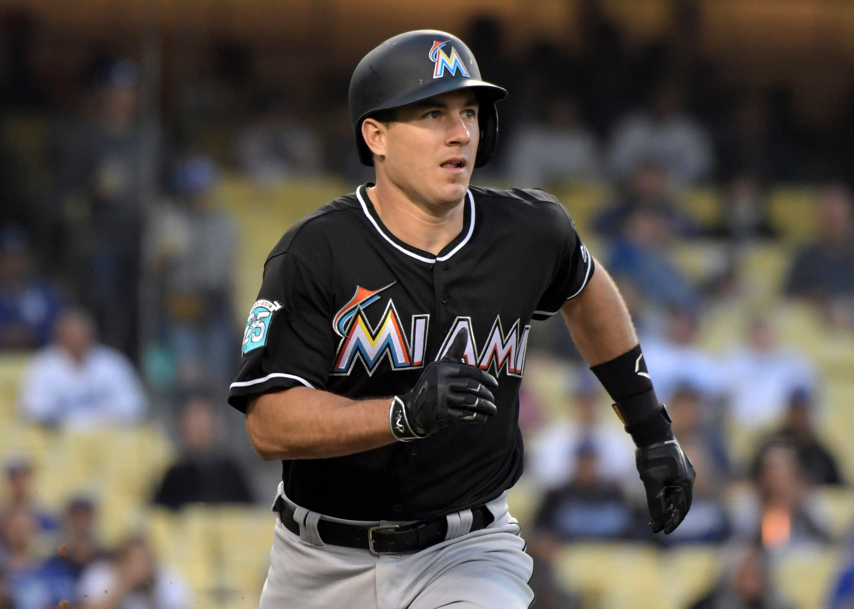 Feb. 7: The Marlins traded catcher J.T. Realmuto to the Phillies for catcher Jorge Alfaro, pitching prospects Sixto Sanchez and Will Stewart and international bonus slot money.