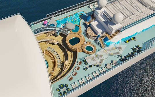 The Caribbean Princess is going to make a splash this summer.