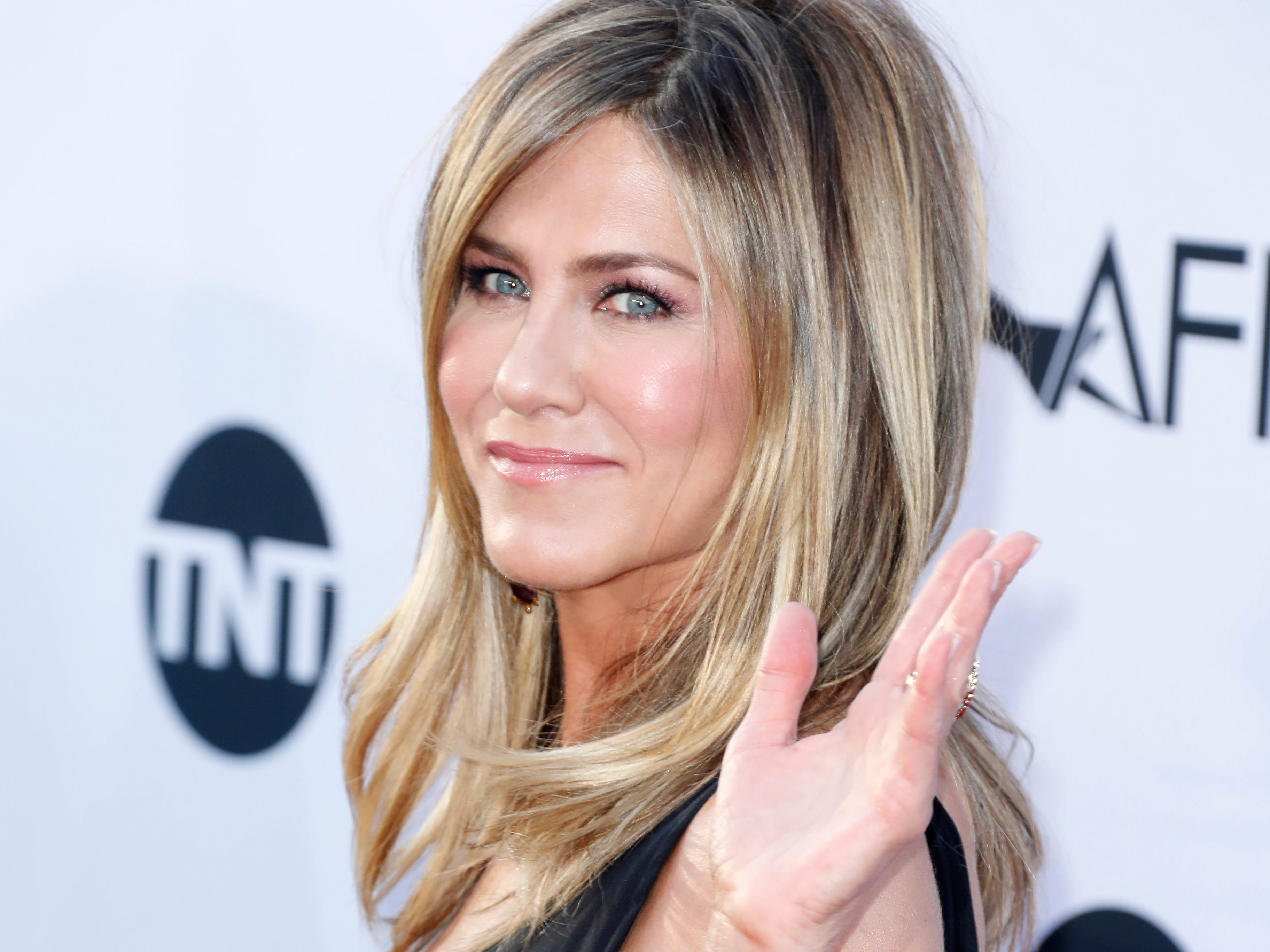 Jennifer Aniston, who has been our TV and movie friend for 25 years, turns 50 on Feb. 11. Click forward to look back at the actress life and career.