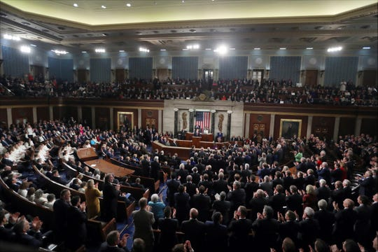 State of the Union address on Feb. 5, 2019.