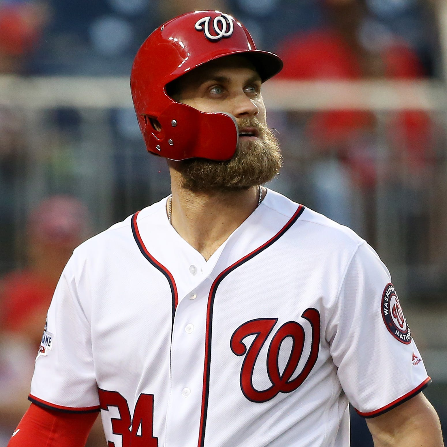 Star outfielder Bryce Harper remains unsigned about a week before spring training starts.
