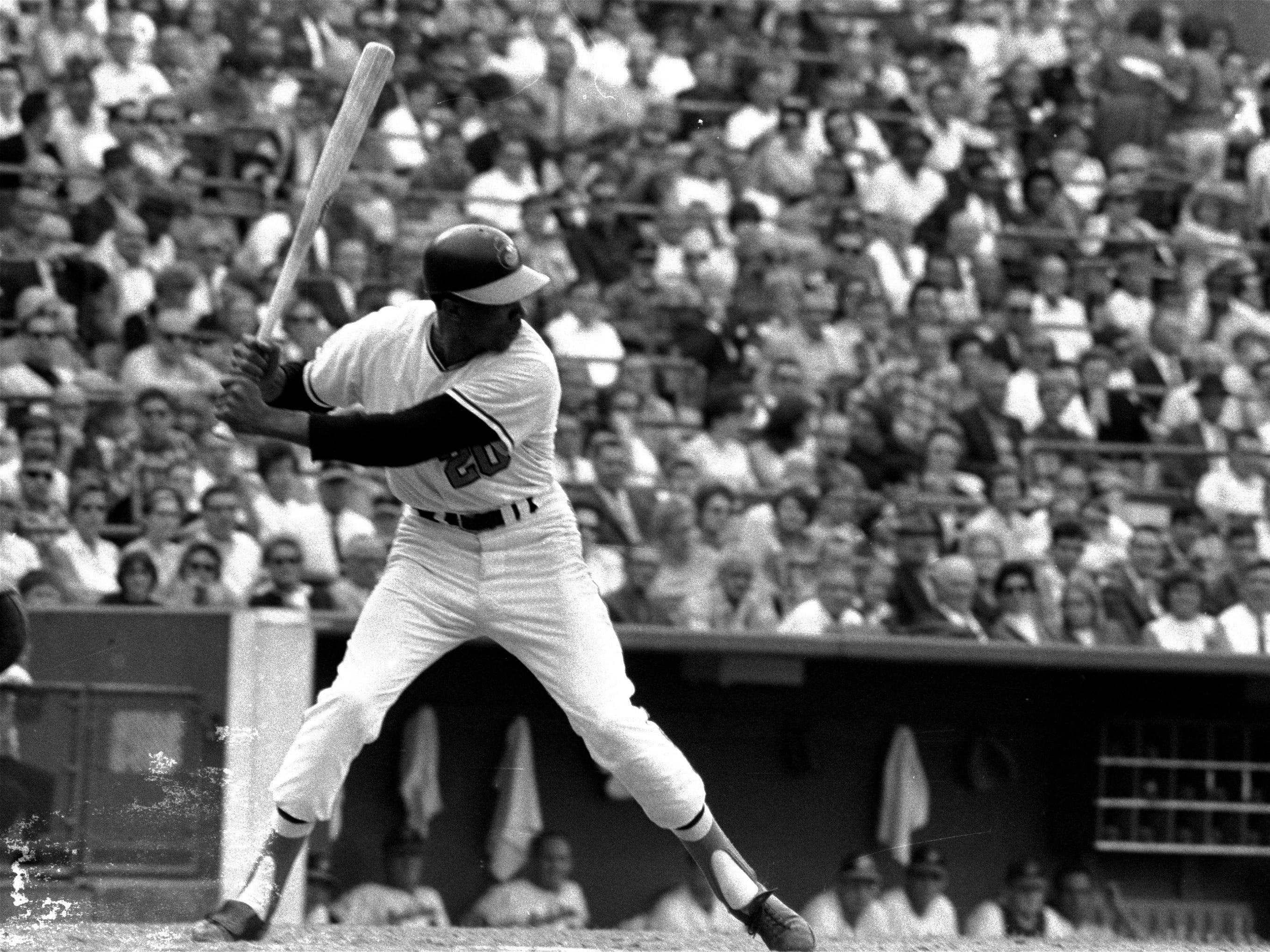 Frank Robinson, a 14-time All-Star, slugged 586 home runs over his career.