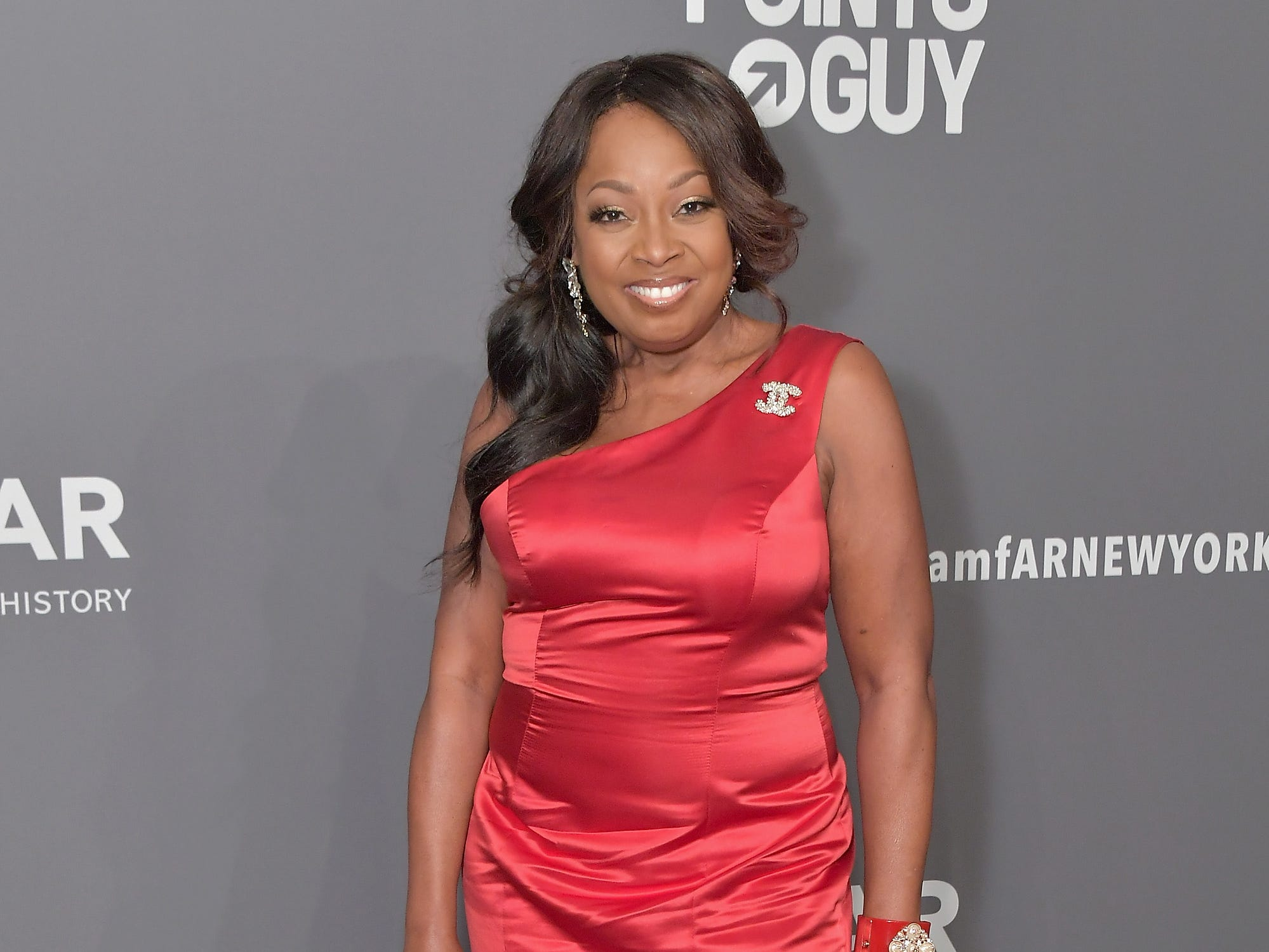 NEW YORK, NY - FEBRUARY 06:  Star Jones attends the amfAR New York Gala 2019 at Cipriani Wall Street on February 6, 2019 in New York City.  (Photo by Michael Loccisano/Wire Image) ORG XMIT: 775293218 ORIG FILE ID: 1094611890