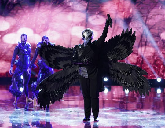 "Raven on ""The Masked Singer."""