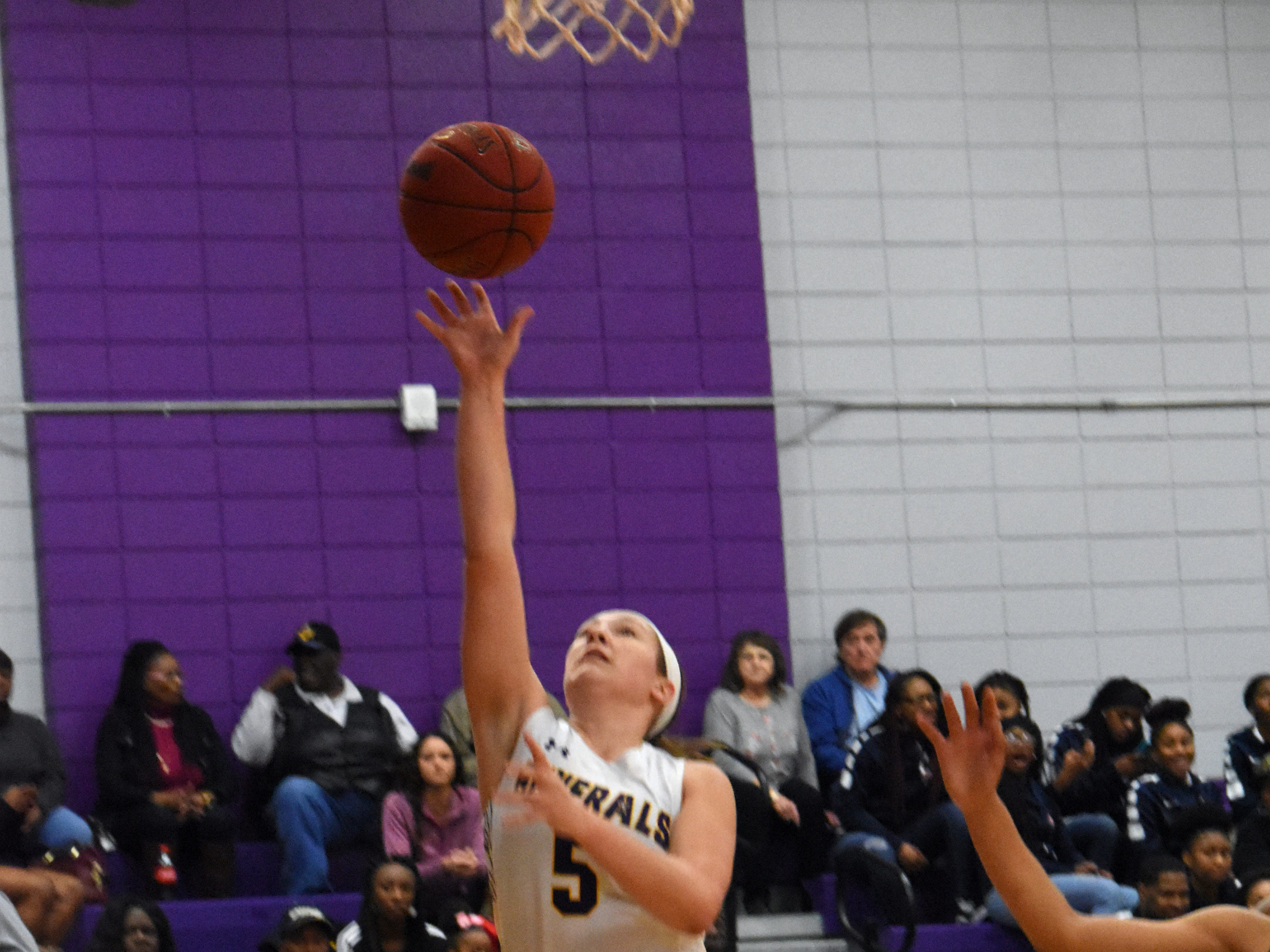 The Louisiana State University of Alexandria's Lady Generals defeated Our Lady of the Lake 89-87 Thursday, Feb. 7, 2019 at the Fort located on the LSUA campus.