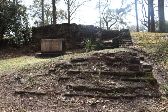Ruins of the original Louisiana State University along Highway 71 in Pineville can be viewed along a walking trail located across from the Alexandria Veterans Affairs Medical Center in Pineville next to the headquarters of the Kisatchie National Forest. It was known as the Louisiana Seminary of Learning in Pineville and was destroyed by fire. Ruins of the old buildings still remain. A historial marker was unveiled Thursday celebrating the contributions of LSU's first president, William Tecumseh Sherman. The ceremony was hosted by the Historical Association of Central Louisiana.