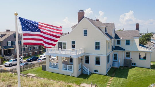 Tour historic $6.8M Bay Head mansion at 695 East Avenue.