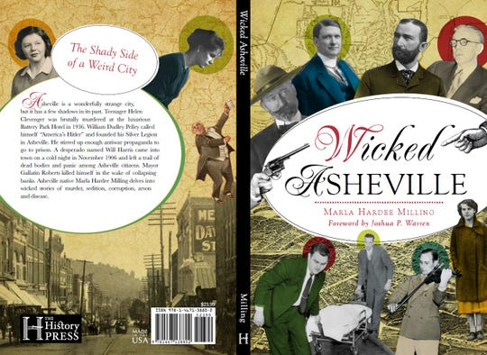 """""""Wicked Asheville"""" cover"""