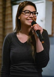 Makenzi Berg will serve as the host of The Boho's first comedy performance Friday evening.