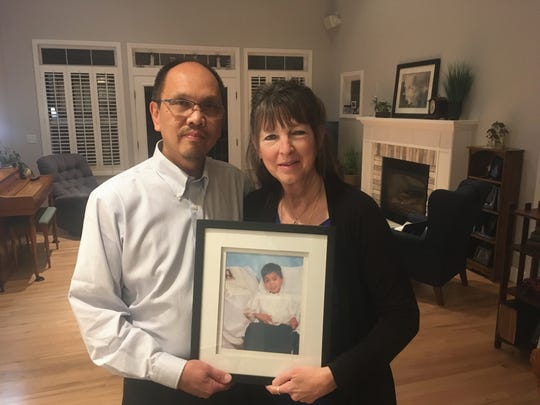 Oscar and Paula Abalahin of Port Orchard lost their son Jaxon in 2008 to complications from the measles, which he had as an infant in the Philippines before they adopted him. The couple has a nonprofit, Jaxon's Cure, to raise awareness of the importance of immunization.